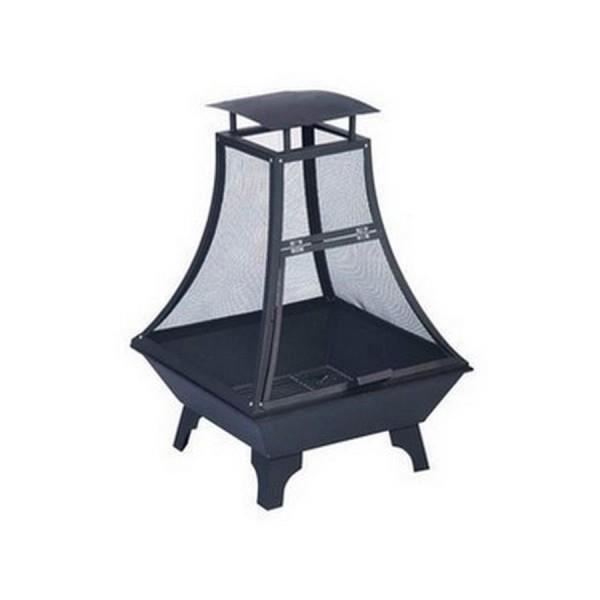 brasero en m tal design pour feu de camp dans l achat vente brasero accessoire brasero en. Black Bedroom Furniture Sets. Home Design Ideas