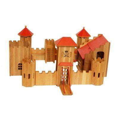 jouet en bois forteresse chateau fort l achat vente univers miniature cdiscount. Black Bedroom Furniture Sets. Home Design Ideas
