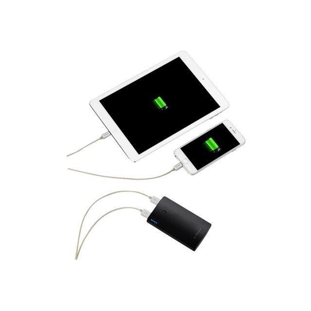 pny batterie externe 7800 mah rechargeable pour smartphone 7800 mah noir achat batterie. Black Bedroom Furniture Sets. Home Design Ideas