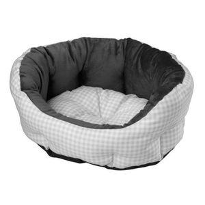 D&D Coussin Checko - 55x45x23cm - Silver - Pour chien