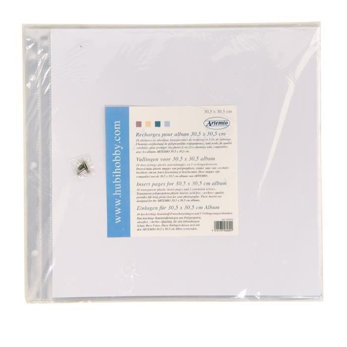 artemio 10 pochettes plastiques pour album achat vente pochette plastique artemio 10. Black Bedroom Furniture Sets. Home Design Ideas