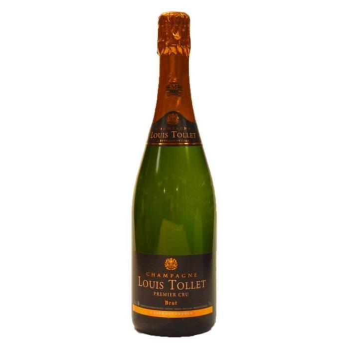 Louis tollet premier cru champagne brut 750ml achat for Louis jardin wine