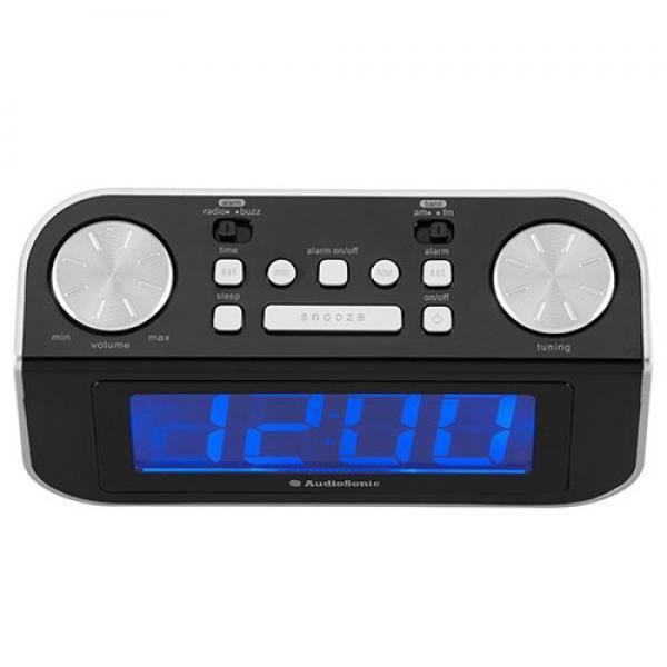radior veil affichage jumbo audiosonic cl480 radio. Black Bedroom Furniture Sets. Home Design Ideas