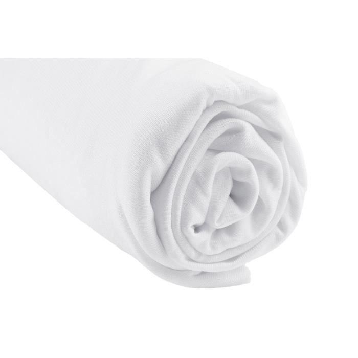 drap housse bambou pour lit volutif 90x140 blanc blanc achat vente drap housse matelas. Black Bedroom Furniture Sets. Home Design Ideas