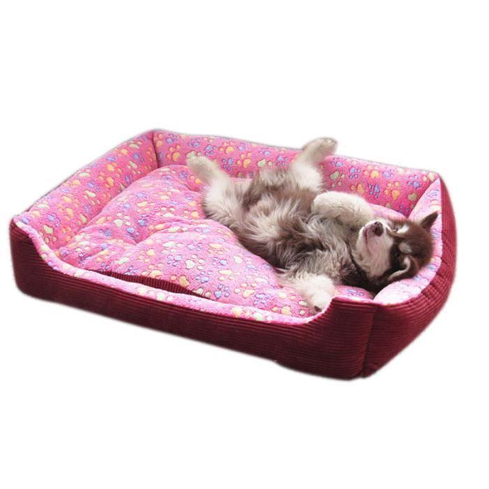 chenil niche chaud souple lit pour chien chat animal. Black Bedroom Furniture Sets. Home Design Ideas