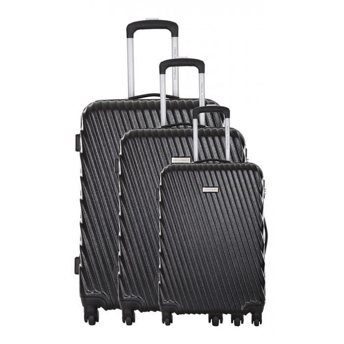 pascal morabito set de 3 valises arise achat vente set de valises 3607070655801 cdiscount. Black Bedroom Furniture Sets. Home Design Ideas