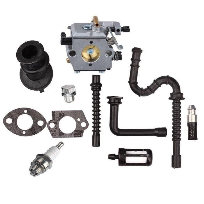 Wt 194 carburateur avec tuyau d essence filtre bougie pour tron onneuse stihl ms240 ms260 024 - Pieces detachees stihl ...