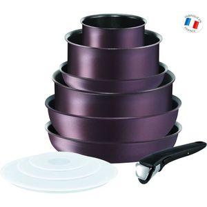 TEFAL INGENIO PERFORMANCE Batterie de cuisine 10 pi?ces L6609802 18-20-22-26-28cm Tous feux dont induction