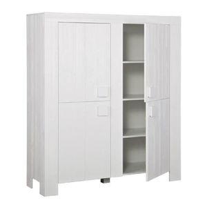 armoire 140 cm largeur achat vente armoire 140 cm largeur pas cher soldes cdiscount. Black Bedroom Furniture Sets. Home Design Ideas