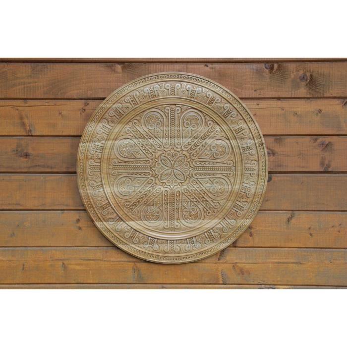 assiette en bois d corative originale rosynka faite main. Black Bedroom Furniture Sets. Home Design Ideas