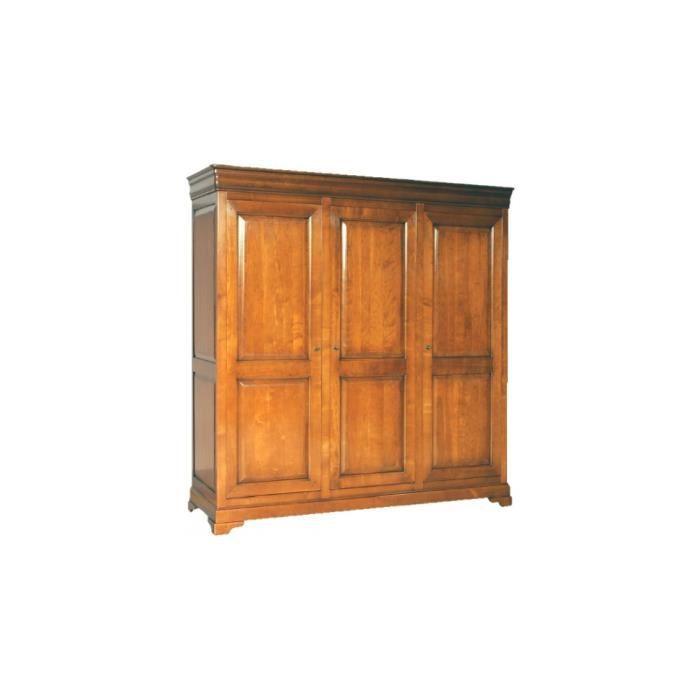 armoire 3 portes achat vente armoire de chambre. Black Bedroom Furniture Sets. Home Design Ideas