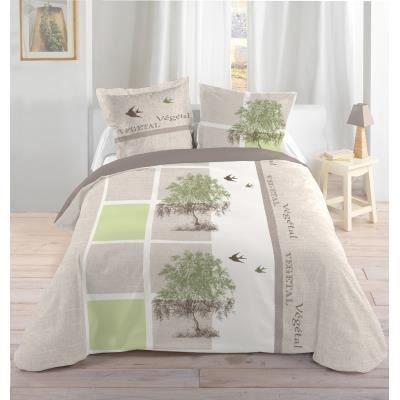 housse de couette et taies d 39 oreiller v g tal achat. Black Bedroom Furniture Sets. Home Design Ideas