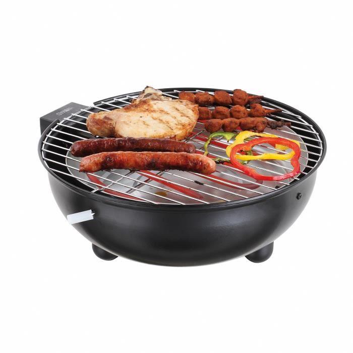 Barbecue de table lectrique noir doc170n achat vente - Table electrique osteopathie occasion ...