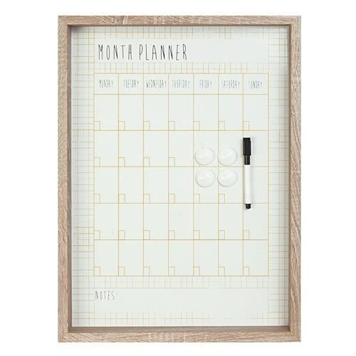 Planificateur mensuel pt calendrier mensuel achat for Planificateur jardin