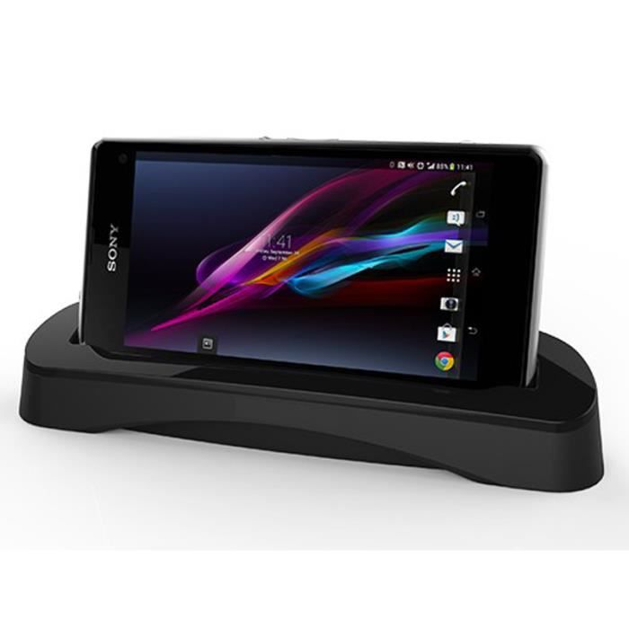 dock chargeur sony xperia z1 compact mini achat. Black Bedroom Furniture Sets. Home Design Ideas