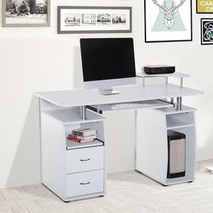 meuble d 39 ordinateur bureau informatique bois achat vente meuble d 39 ordinateur bureau. Black Bedroom Furniture Sets. Home Design Ideas