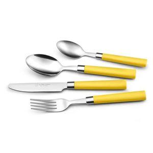 Service vaisselle de couleur jaune achat vente service - La table d albert ...