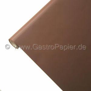 NAPPE DE TABLE Nappe en papier 25m x 1,15m en chocolat caracté...