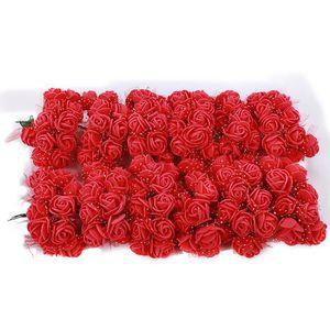 Rose artificielle en mousse achat vente rose for Bouquet de fleurs pas cher livraison gratuite