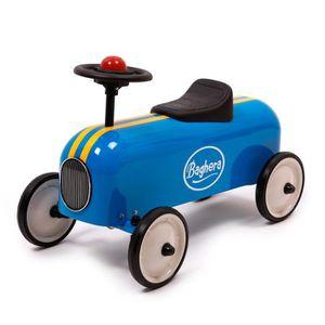 PORTEUR - POUSSEUR BAGHERA Porteur Racer Bleu