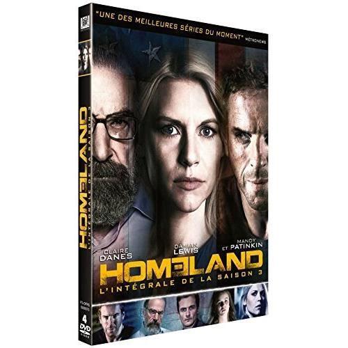DVD SÉRIE DVD Homeland, saison 3