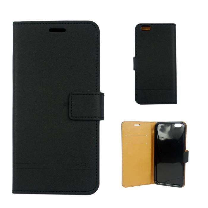 Etui housse coque iphone 6 plus portefeuille hl magnifique for Housse portefeuille iphone 6