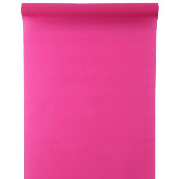 chemin de table brillant mat fuchsia achat vente chemin de table cdiscount. Black Bedroom Furniture Sets. Home Design Ideas