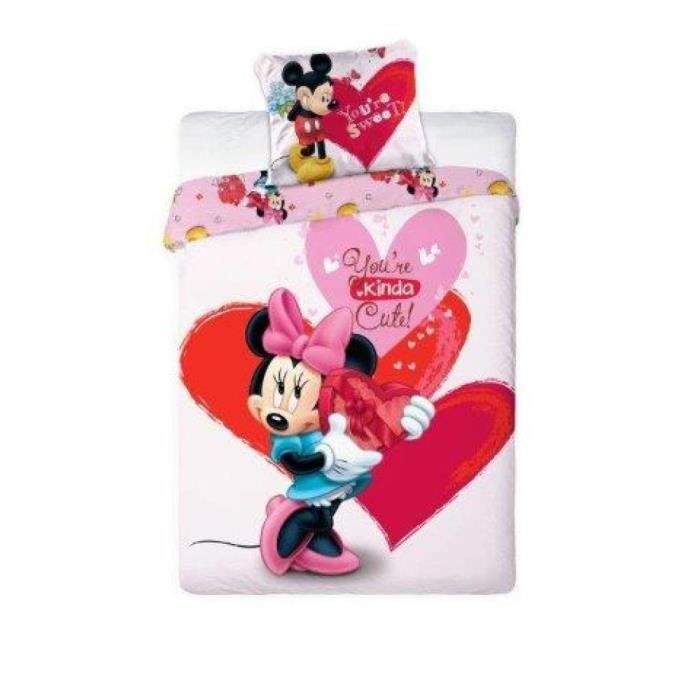 Couette 70x140 minnie achat vente couette 70x140 for Housse couette disney