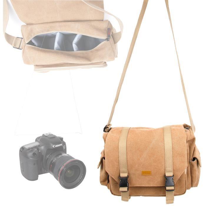 sacoche pour appareil photo canon 7d mark ii et eos 1200d. Black Bedroom Furniture Sets. Home Design Ideas