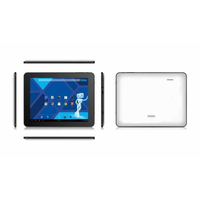 electromenager refrigerateur congelateur haier tablette tactile pad e f  haipade