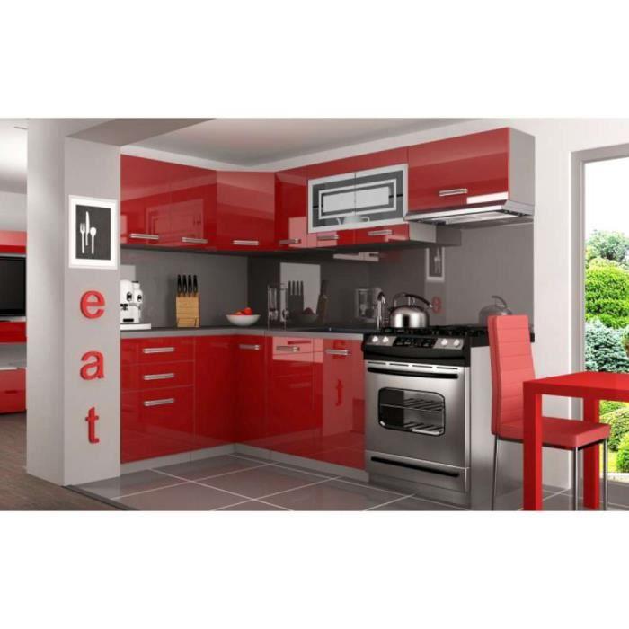 Justhome lidja p pro l cuisine quip e compl te 130x230 cm for Vendeur cuisine equipee