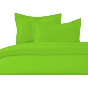 couette vert anis achat vente couette vert anis pas cher cdiscount. Black Bedroom Furniture Sets. Home Design Ideas