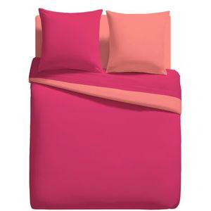 housse de couette framboise achat vente housse de couette framboise pas cher les soldes. Black Bedroom Furniture Sets. Home Design Ideas