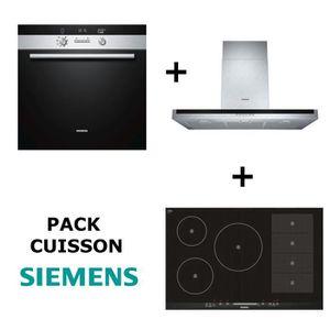 LOT APPAREIL CUISSON SIEMENS  - Pack cuisson : Four multifonction pyrol