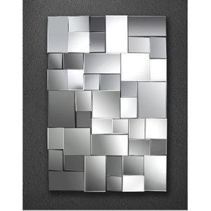 Miroir design a facettes lucie achat vente miroir cdiscount - Miroir simple pas cher ...