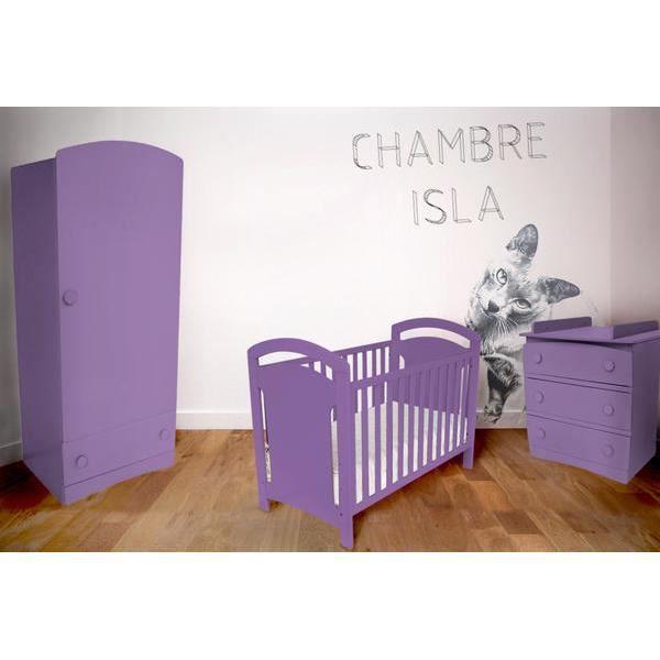 Chambre b b isla compl te achat vente chambre compl te b b 200994455880 - Chambre bebe cdiscount ...