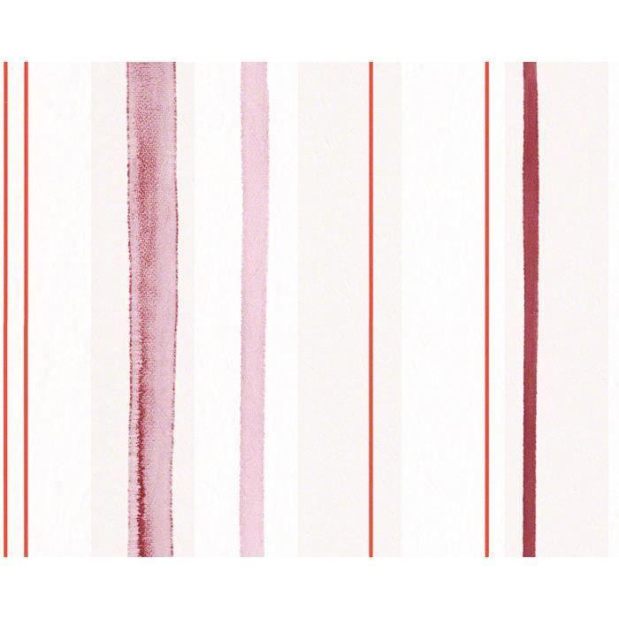 papier peint aquarelle 10 05 m x 0 53 m rouge achat. Black Bedroom Furniture Sets. Home Design Ideas
