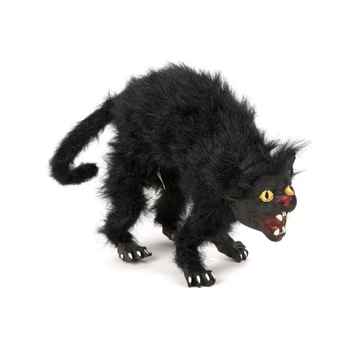 chat noir modulable 36 cm halloween 230244 taille. Black Bedroom Furniture Sets. Home Design Ideas