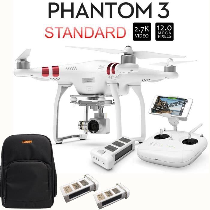 dji phantom 3 standard quadricopt re drone avec camera 2. Black Bedroom Furniture Sets. Home Design Ideas
