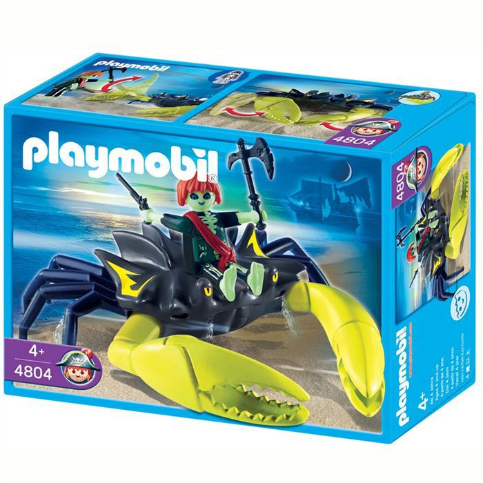 Playmobil pirate fant me et crabe g ant achat vente - Playmobil pirate fantome ...