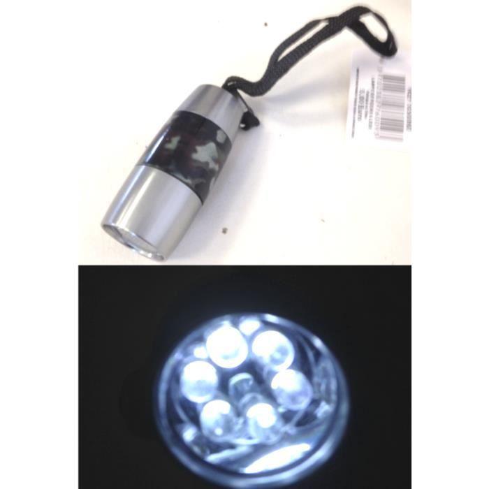 lot 10 lampe de poche 6 led motif militaire armee achat vente torche de jardin lot 10 lampe. Black Bedroom Furniture Sets. Home Design Ideas
