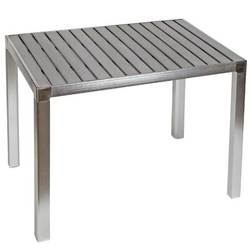 Table derby en aluminium et resine design achat vente - Table en aluminium ...