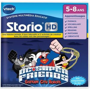 VTECH Jeu hd storio - batman vs superman
