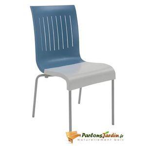 chaise de jardin en plastique bleu achat vente chaise de jardin en plastique bleu pas cher. Black Bedroom Furniture Sets. Home Design Ideas