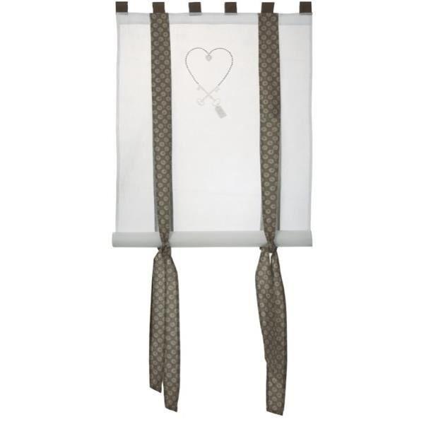 Rideau eurouleur 80x160 cle achat vente rideau 100 for Miroir 80x160