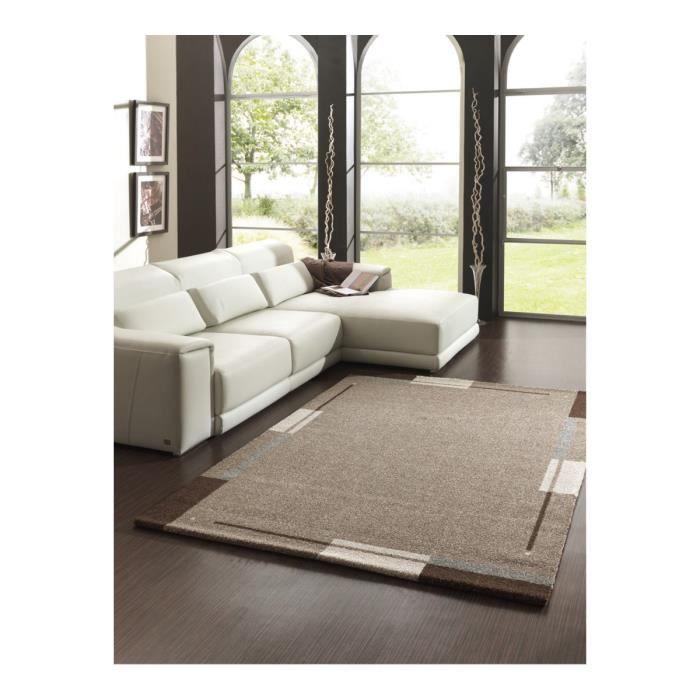 tapis de salon marron flume 160 x 230 achat vente. Black Bedroom Furniture Sets. Home Design Ideas