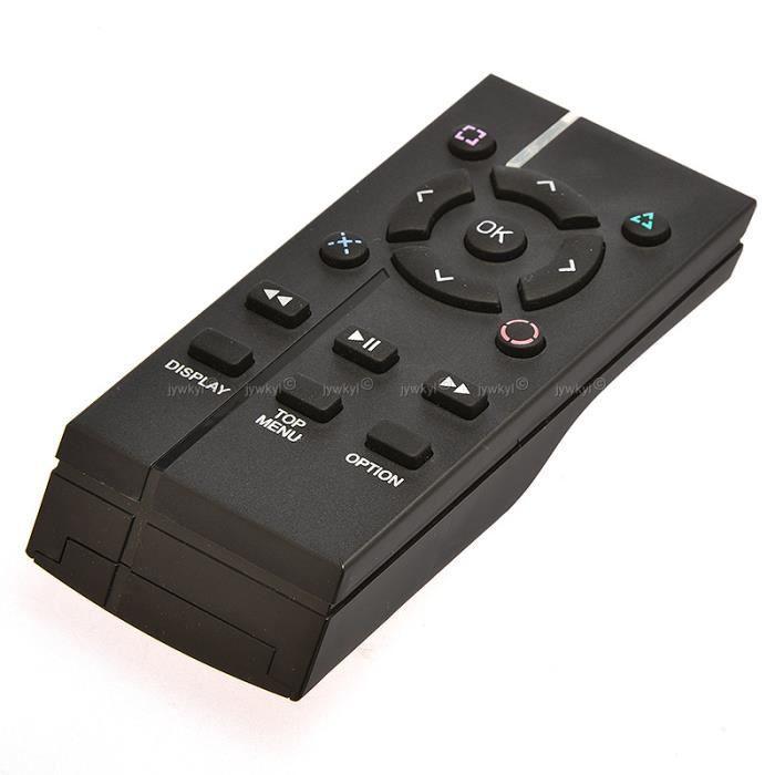 Télécommande Contrôleur Infrarouge Multimédia Blu Ray DVD pour PS4