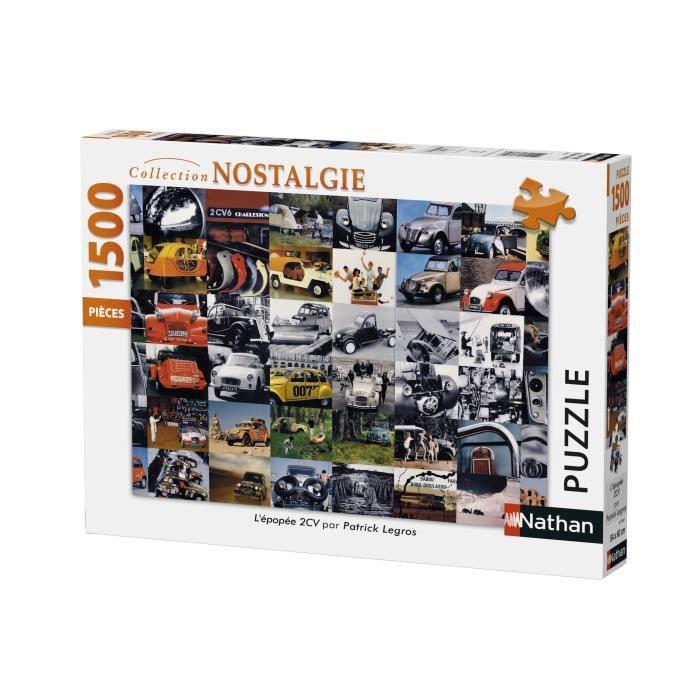 puzzle 2cv achat vente jeux et jouets pas chers. Black Bedroom Furniture Sets. Home Design Ideas