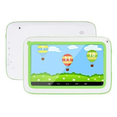Tablette pour enfants android 7 pouces 8gb vert prix - Tablette pour enfant pas cher ...