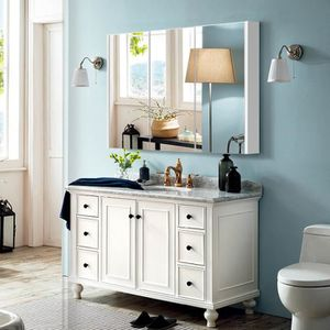 armoire salle bain murale avec miroir une porte achat. Black Bedroom Furniture Sets. Home Design Ideas